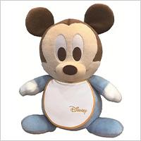 ベビーミッキー(ディズニースタイ)のウェイトドール:生まれたときと同じ重さでつくるディズニーウェイトドールの写真