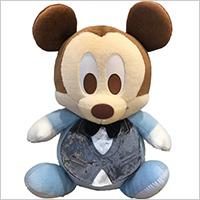 ベビーミッキー(フォーマル)のウェイトドール:生まれたときと同じ重さでつくるディズニーウェイトドールの写真